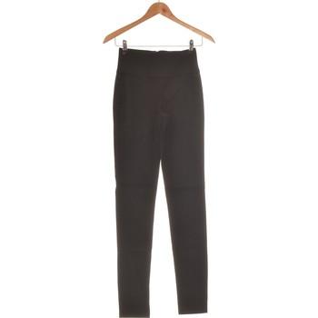 Vêtements Femme Chinos / Carrots Pieces Pantalon Slim Femme  34 - T0 - Xs Noir