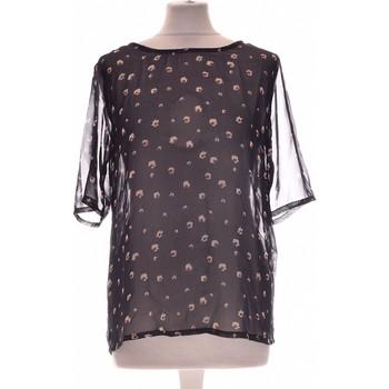 Vêtements Femme Tops / Blouses Ichi Top Manches Courtes  34 - T0 - Xs Bleu