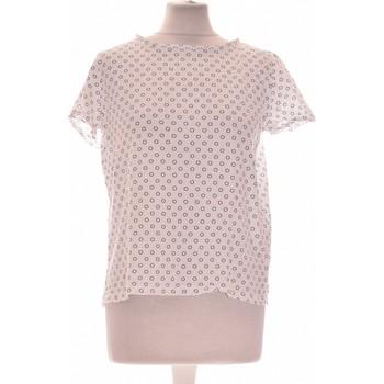 Vêtements Femme Tops / Blouses A.p.c. Top Manches Courtes A.p.c. 36 - T1 - S Blanc