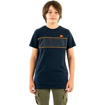 Vêtements Garçon T-shirts manches courtes Ellesse zabaglione 429 navy bleu