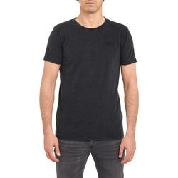 Vêtements Homme T-shirts manches courtes Pullin T-shirt  PLAINFINNBLACK NOIR