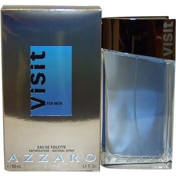 Beauté Homme Eau de parfum Azzaro Visit - eau de toilette - 100ml - vaporisateur Visit - cologne - 100ml - spray