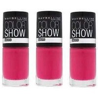 Beauté Femme Vernis à ongles Maybelline New York Color Show Nail Polish - Electric pink 188 Maybelline Color Show Nail Polish - Electric pink 188