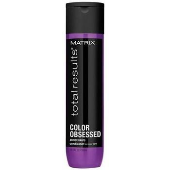 Beauté Femme Soins & Après-shampooing Matrix Total Results Acondicionador Color Obsessed - 300ml Total Results Acondicionador Color Obsessed - 300ml