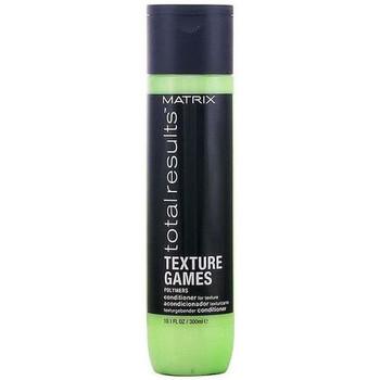 Beauté Femme Shampooings Matrix Acondicionador Total Results Texture Games  - 300ml Acondicionador Total Results Texture Games Matrix - 300ml