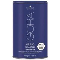 Beauté Femme Soins & Après-shampooing Schwarzkopf Igora Vario Blond Super Plus Polvos Aclarantes Extra 450 g Igora Vario Blond Super Plus Polvos Aclarantes Extra 450 g