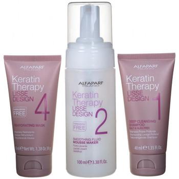 Beauté Femme Soins & Après-shampooing Alfaparf Kit Lisse Design Keratin Therapy Express - 3 piezas Kit Lisse Design Keratin Therapy Express - 3 piezas