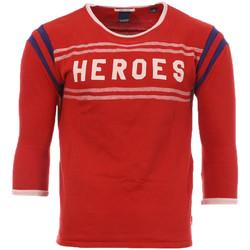 Vêtements Homme T-shirts manches longues Scotch & Soda 134298-18 Rouge