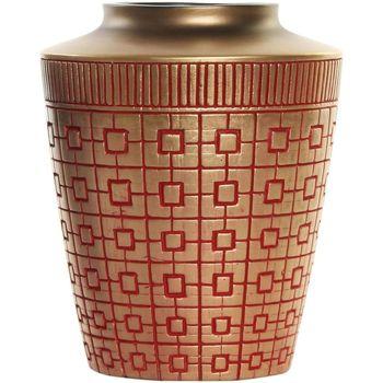 Maison & Déco Vases, caches pots d'intérieur Zen Et Ethnique Vase en résine doré oriental 20 cm Doré