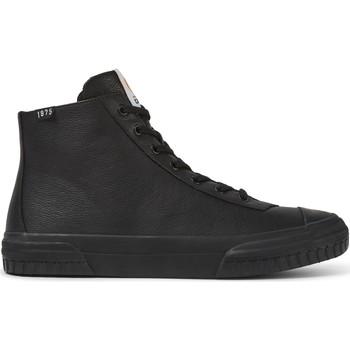 Chaussures Homme Baskets montantes Camper Baskets cuir Camaleon 1975 noir