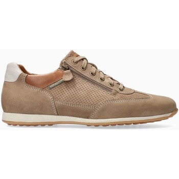 Chaussures Homme Baskets basses Mephisto Baskets cuir LEON Beige