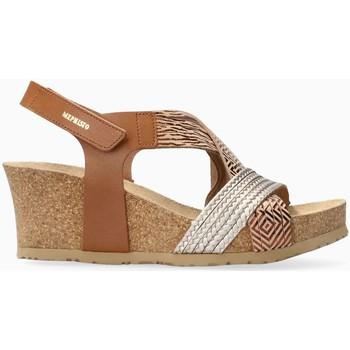 Chaussures Femme Sandales et Nu-pieds Mephisto Sandales cuir LEONIA Beige