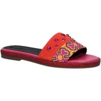 Chaussures Femme Mules Geox D825SH 021AW D KOLLEEN Rojo