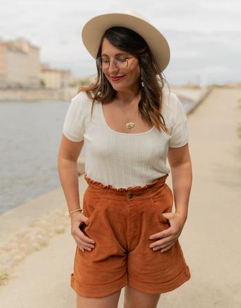 Vêtements Femme Tops / Blouses Céleste ERABLE Ecru