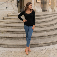 Vêtements Femme Pulls Céleste NYSSA Noir