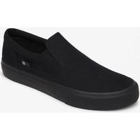 Chaussures Homme Slip ons DC Shoes TRASE SLIP ON black black Noir