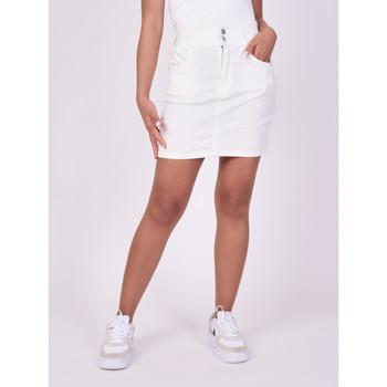 Vêtements Femme Jupes Project X Paris Jupe Blanc