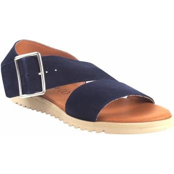 Chaussures Femme Sandales et Nu-pieds Eva Frutos 1218 bleu Bleu