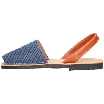 Chaussures Femme Sandales et Nu-pieds Ska 21 Caprera Djp santal Femme Bleu