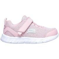 Chaussures Fille Baskets basses Skechers Comfy Flex Moving ON Rose