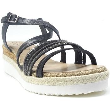 Chaussures Femme Sandales et Nu-pieds Porronet FI2632 NOIR