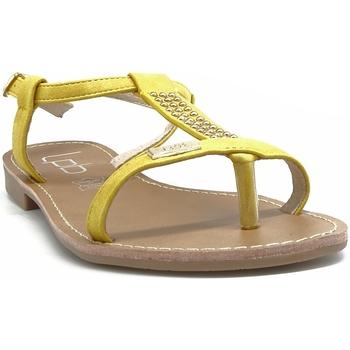 Chaussures Femme Sandales et Nu-pieds Les Petites Bombes EMILIE JAUNE