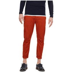 Vêtements Homme Chinos / Carrots G-Star Raw Pantalon Homme Chino Vetar Antic Auburn Orange