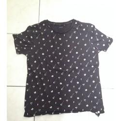 Vêtements Garçon T-shirts manches courtes Ikks Tee shirt ikks Noir