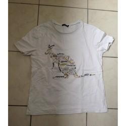 Vêtements Garçon T-shirts manches courtes Ikks Tee shirt ikks Blanc