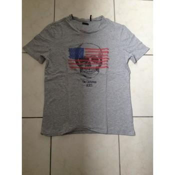 Vêtements Garçon T-shirts manches courtes Ikks Tee shirt ikks Gris