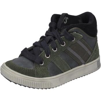 Chaussures Garçon Baskets montantes California Xboys BH483 Vert