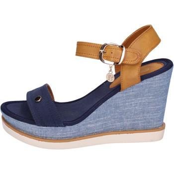 Chaussures Femme Sandales et Nu-pieds Enrico Coveri BH490 Bleu