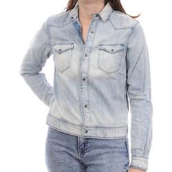 Vêtements Femme Vestes en jean Scotch & Soda 134807-6 Bleu