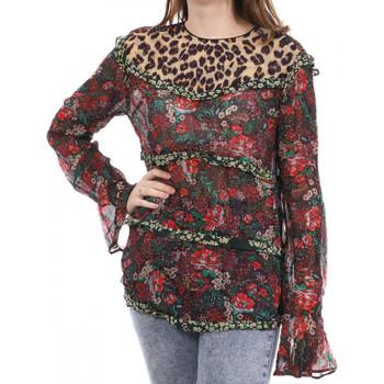 Vêtements Femme T-shirts manches longues Scotch & Soda 136793-17 Rouge