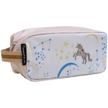 Sacs Vanity Caramel&Cie Trousse de toilette Caramel et cie - Constellation Rose