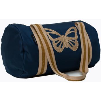 Sacs Enfant Sacs de voyage Caramel&Cie Sac polochon Papillon 40 cm Bleu