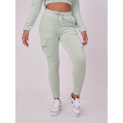 Vêtements Femme Pantalons de survêtement Project X Paris Jogging Vert d'eau