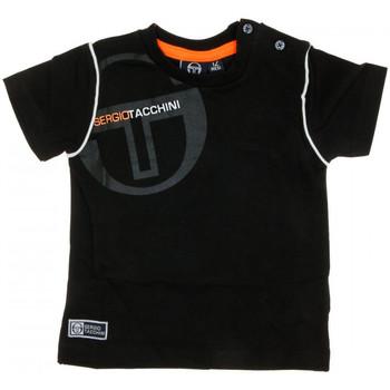 Vêtements Homme T-shirts manches courtes Sergio Tacchini 3076M0002 Noir