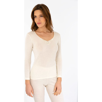 Vêtements Femme T-shirts manches longues Armor Lux  NATUREL