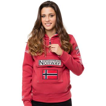 Vêtements Femme Sweats Geographical Norway Sweat GYMCLASS Rouge carmin