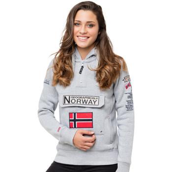 Vêtements Femme Sweats Geographical Norway Sweat GYMCLASS Gris clair