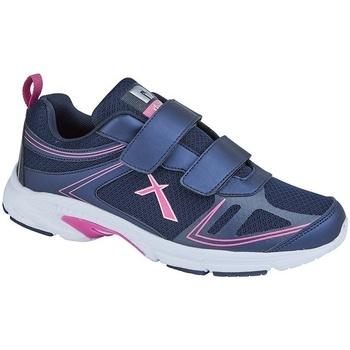 Chaussures Femme Baskets basses Dek  Bleu marine / fuchsia
