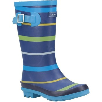 Chaussures Garçon Bottes de pluie Cotswold  Bleu / Vert / Jaune