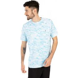 Vêtements Homme T-shirts manches courtes Spyder T-Shirt coup rond pour homme Bleu fonce