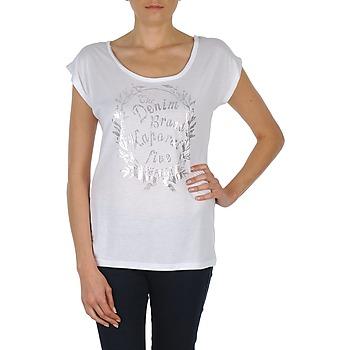 Vêtements Femme T-shirts manches courtes Kaporal HAIDI Blanc