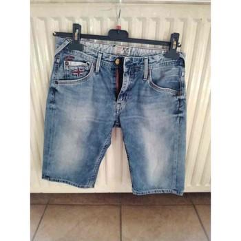 Vêtements Garçon Shorts / Bermudas Pepe jeans Bermuda jean PEPE JEANS Bleu