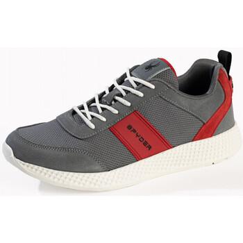Chaussures Homme Baskets basses Spyder Baskets Alfa pour homme Gris charbon