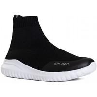 Chaussures Baskets montantes Spyder Baskets Leon pour femme Noir melange