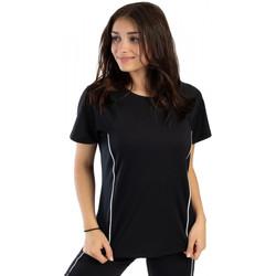 Vêtements Femme T-shirts manches courtes Spyder T-shirt de sport pour femme Noir