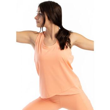 Vêtements Femme Débardeurs / T-shirts sans manche Spyder Débardeur Running pour femme Peche